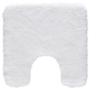Kleine Wolke WC-VORLEGER Weiß 55/55 cm , Relax 5405 115 129 , Textil , Uni , 55x55 cm , für Fußbodenheizung geeignet, rutschhemmend , 003342094132
