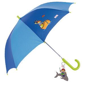 Sigikid Regenschirm , 23291 , Blau, Grün , Textil , 006933026602