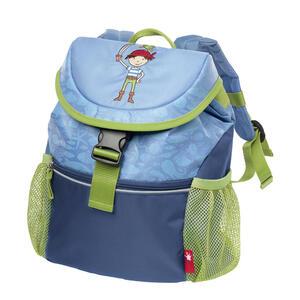 Sigikid Kindergarten-rucksack , 24935   *mb* , Blau, Hellgrün , Textil , 26x30x12 cm , leuchtende Reflektorstreifen , 006933030307