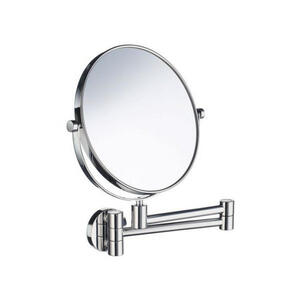 Smedbo Kosmetikspiegel chromfarben , Smedbo 'outline' _ Metall , verchromt , feuchtraumgeeignet , 001311007902