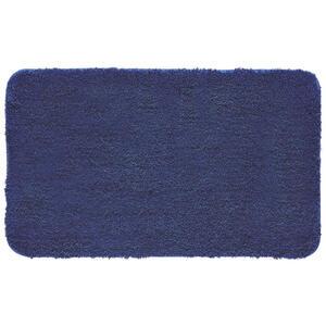 Kleine Wolke BADTEPPICH Dunkelblau 60/100 cm , Relax 5405 736 360 , Textil , Uni , 60x100 cm , für Fußbodenheizung geeignet, rutschhemmend , 003342113611
