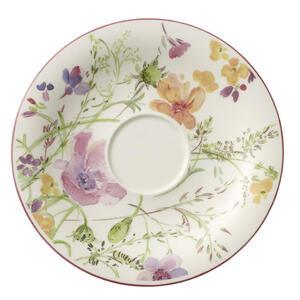 Villeroy & Boch Untertasse , 1041001250 , Multicolor, Weiß , Keramik , Floral , 0034070062
