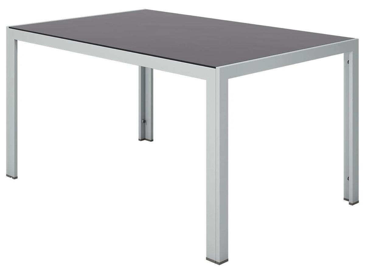 Bild 3 von FLORABEST Gartentisch Aluminium, Grau, Wendetischplatte