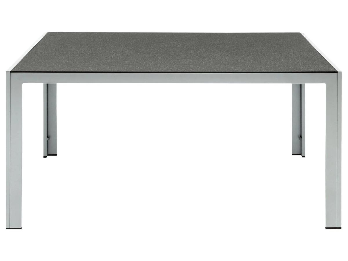 Bild 6 von FLORABEST Gartentisch Aluminium, Grau, Wendetischplatte
