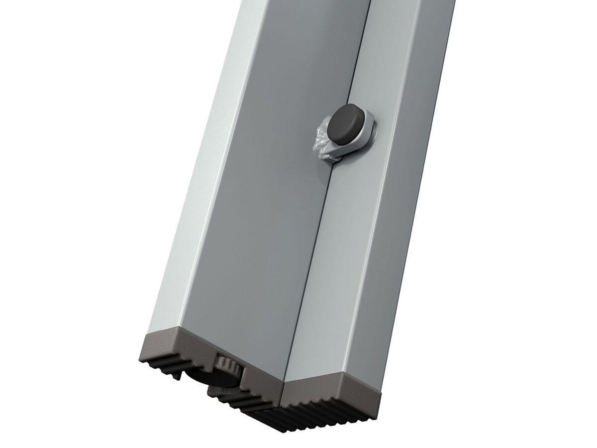 Bild 10 von FLORABEST Gartentisch Aluminium, Grau, Wendetischplatte