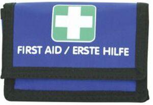 toitowear Erste-Hilfe-Täschchen blau, befüllt