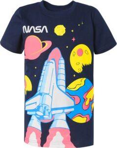 NASA T-Shirt  blau Gr. 92/98 Jungen Kleinkinder