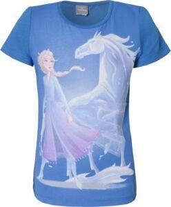 Disney Die Eiskönigin T-Shirt  blau Gr. 92/98 Mädchen Kleinkinder
