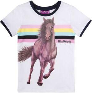 Miss Melody T-Shirt  weiß Gr. 116 Mädchen Kinder
