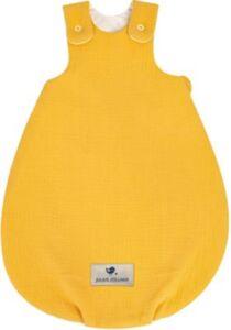 Babyschlafsack Terra, 56/62, honig gelb