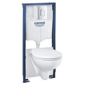 "Grohe              Wand-WC Komplett-Set ""Solido"", 5in1, inkl. Befestigungsmaterial"