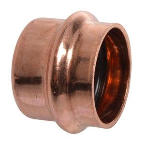 Kirchhoff              Kappe, Pressfitting für Kupfer, 15 mm, V-Kontur