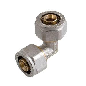 Kirchhoff              90°-Verbindungswinkel 16 mm, Klemmfitting, für MSVR