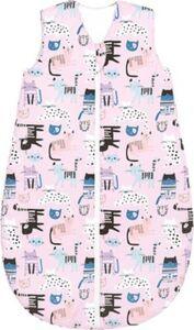 Basic Sommer-Schlafsack, cats pretty pink, Gr. 110
