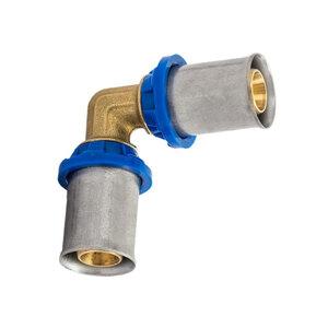 Kirchhoff              Verbindungswinkel, 90°, Pressfitting für Mehrschicht-Verbundrohr, 16 mm