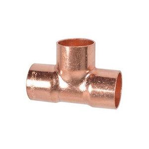 Kirchhoff              T-Stück 15 mm, Kupfer