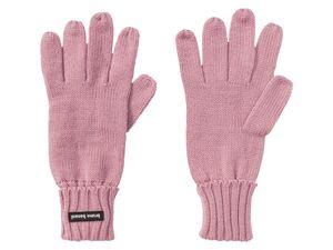 bruno banani Handschuhe Damen, in Strickdesign