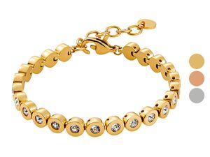 Heideman Amilla s Armband Damen aus Edelstahl, modernes und zeitloses Design