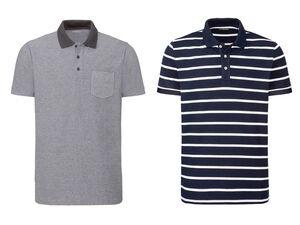 LIVERGY® Poloshirt Herren, Slim Fit, mit Seitenschlitzen