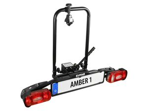 EUFAB Fahrradträger Anhängerkupplung »Amber 1«, 1 Fahrrad, Befestigung an der Kupplung