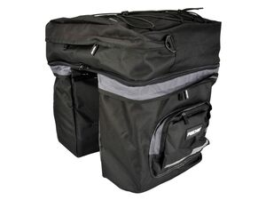 FISCHER Gepäckträgertasche 3-fach, 58 Liter