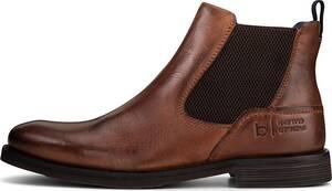 bugatti Denim, Chelsea-Boots in mittelbraun, Boots für Herren