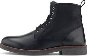 COX, Schnür-Stiefelette in schwarz, Boots für Herren