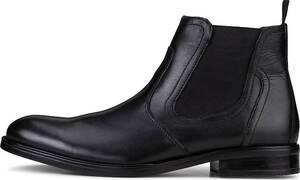 Drievholt, Chelsea Boot in schwarz, Boots für Herren