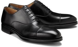 Ludwig Görtz, Oxford-Schnürschuh in schwarz, Business-Schuhe für Herren