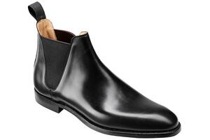 Crockett & Jones, Stiefelette Chelsea 8 in schwarz, Business-Schuhe für Herren
