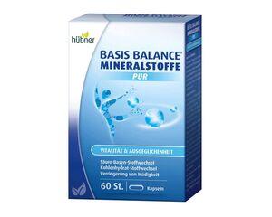 Hübner Basis Balance Mineralstoffe PUR 60 Kapseln