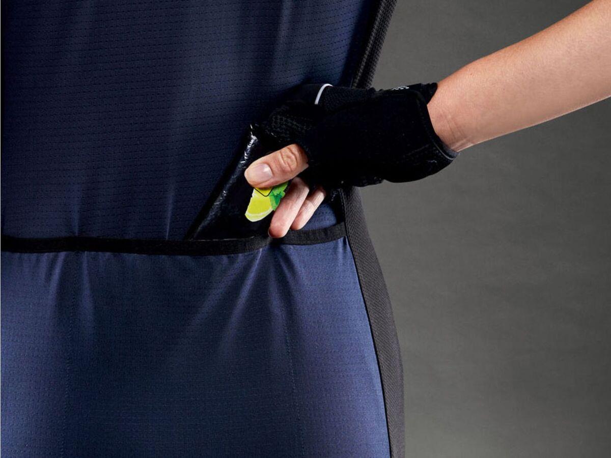 Bild 4 von CRIVIT® Trikot Damen, mit Rückentaschen, Antirutschband