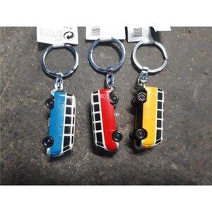 Schlüsselanhänger, Volkswagen Bus, mit Lichtfunktion, ca. 5 x 1,8 x 2,3 cm, verschiedene Farben