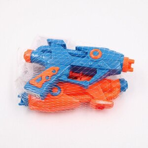 """2 Stück Wasserpistolen """"Space"""", ca. 15 x 5 cm, Kunststoff, blau/orange"""