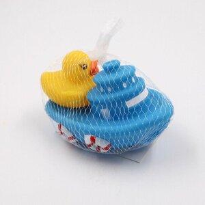 2-teiliges Wasserspielzeug-Set Boot & Ente, Kunststoff