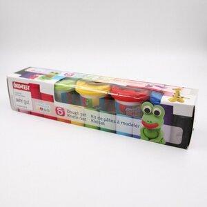 5er-Pack Knete/Spielknete/Knetmasse, ca. 150 g, bunt