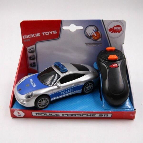 Dickie Toys ferngesteuertes Spielzeugauto Polizeiauto Porsche 911 mit Licht