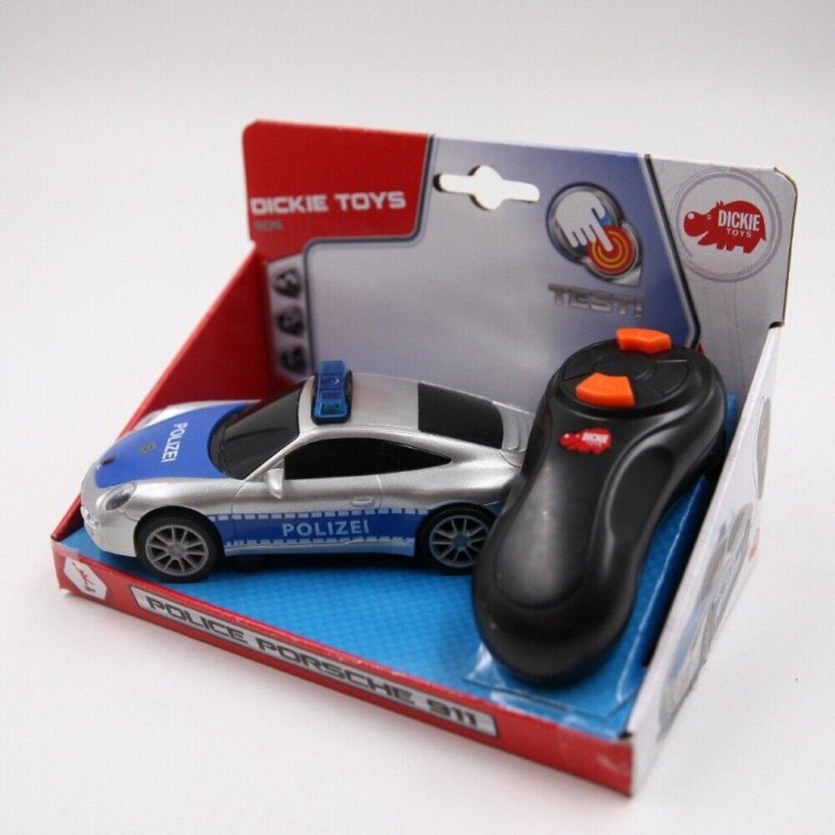 Bild 2 von Dickie Toys ferngesteuertes Spielzeugauto Polizeiauto Porsche 911 mit Licht