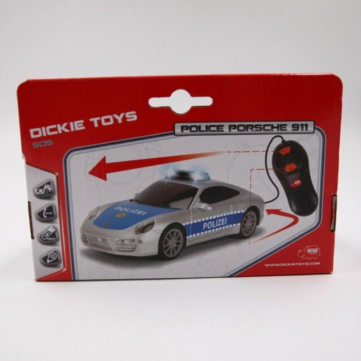 Bild 4 von Dickie Toys ferngesteuertes Spielzeugauto Polizeiauto Porsche 911 mit Licht