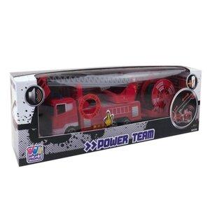 Feuerwehrauto mit Sound, rot, ca. 27 cm