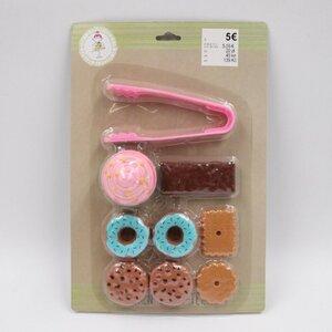 Kinderspiel-Set/Kuchenset, 9-teilig, Kunststoff