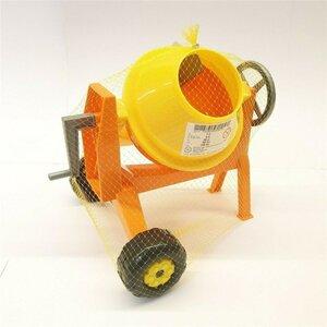 Spielzeug Betonmischer/Mischmaschine/Cavallino, ca. 25 x 24 cm, gelb/orange