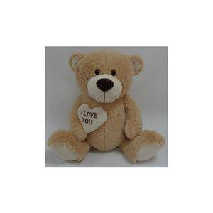 "Teddybär ""I love you"", mit Herz, 56 cm"