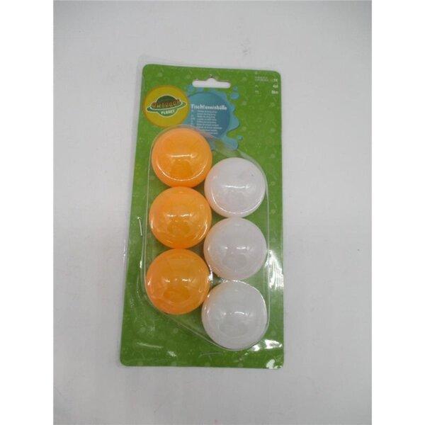 Tischtennisbälle, 6er-Pack