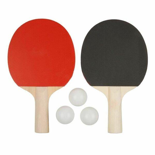 Tischtennisset bestehend aus 2 Tischtennisschlägern und 3 Tischtennisbällen