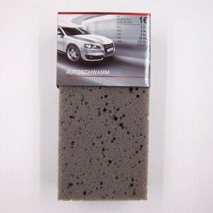 Autoschwamm, 20 x 10 x 6 cm, grau, 100 % Polyurethan