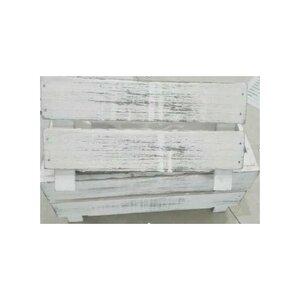 Pflanzkasten, Holz, 20 x 13 x 11 cm