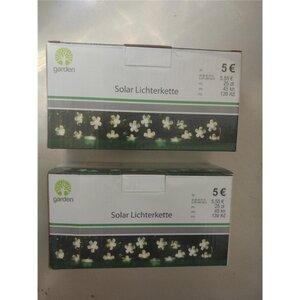Solar Lichterkette, Blumen, 20 Lichter, ca. 2m
