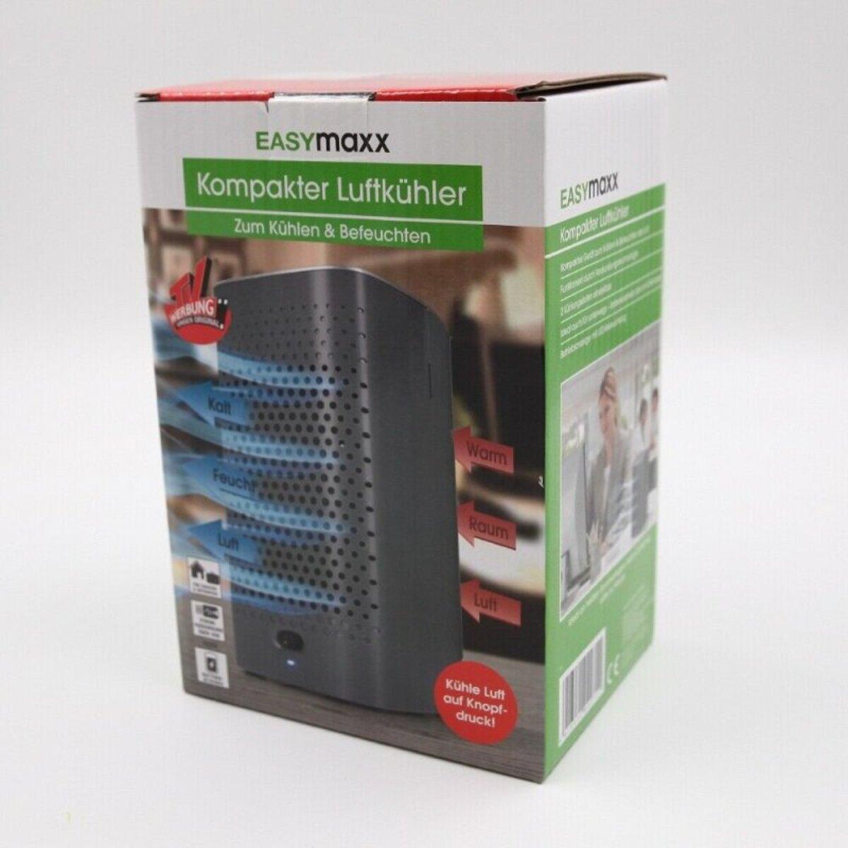 Bild 1 von EasyMaxx mobile Kilmaanlage 2-in-1 Luftkühler Luftbefeuchter Klimagerät schwarz