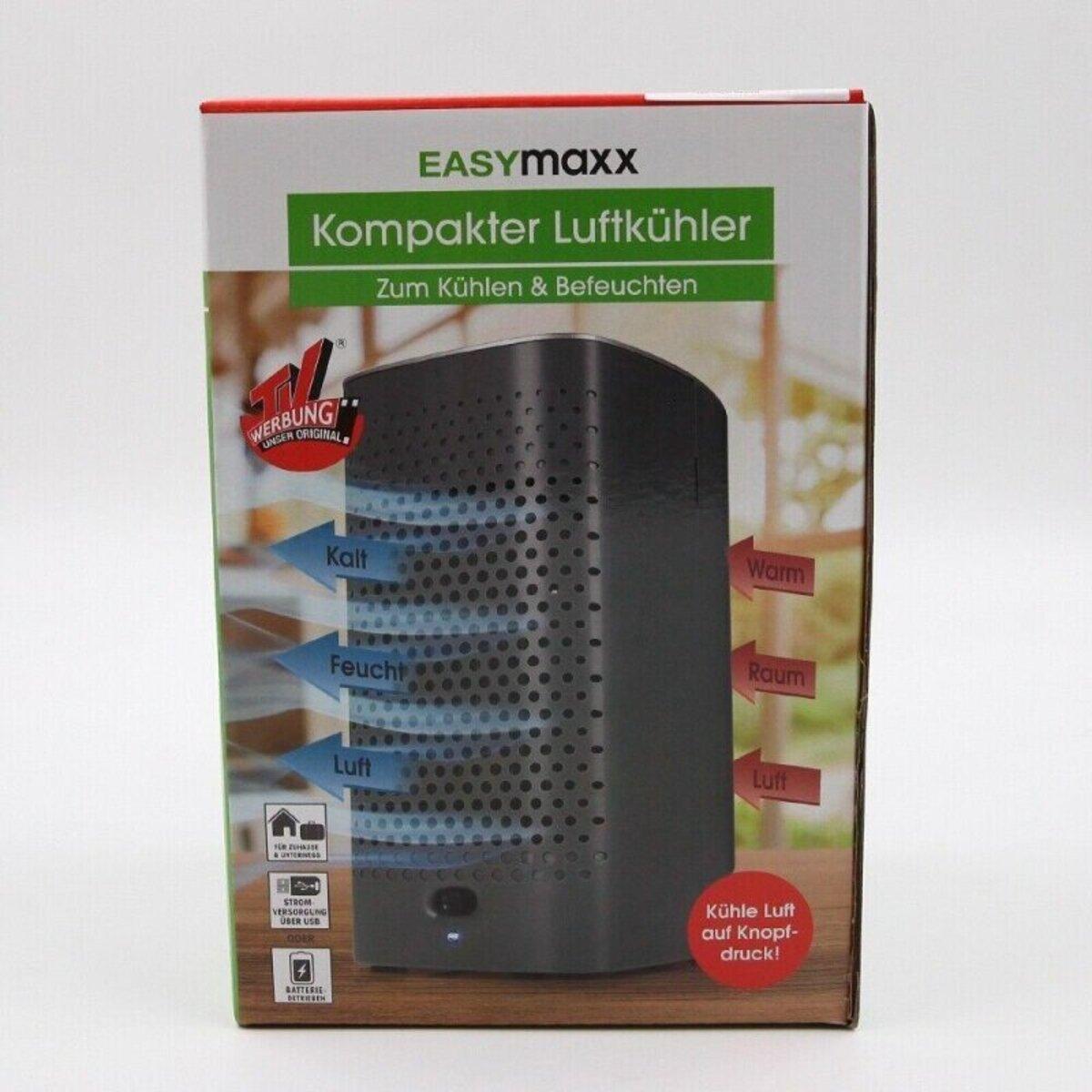 Bild 3 von EasyMaxx mobile Kilmaanlage 2-in-1 Luftkühler Luftbefeuchter Klimagerät schwarz